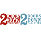 2 Doors Down - Halifax Restaurant - Logo