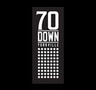 70 Down Restaurant - Logo