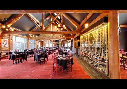 Auberge du Lac Taureau Restaurant - Picture