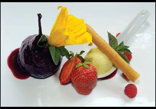 Auberge Le Canard Huppé Restaurant - Picture