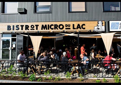 Bistrot Micro du Lac Alma Restaurant - Picture