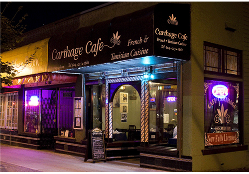 Carthage Cafe Vancouver Reviews