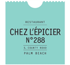 Chez l'Épicier Palm Beach Restaurant - Logo