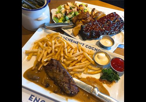 Cochon Dingue - Lévis Restaurant - Picture