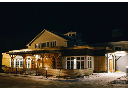 Edgar Hyperlodge (Bromont) Restaurant - Picture