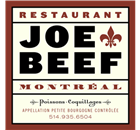 Joe Beef Restaurant - Logo