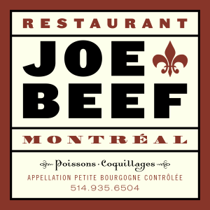 Joe Beef Restaurant - Picture