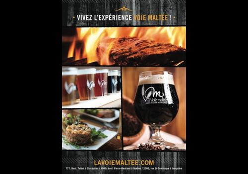 La Voie Maltée - Jonquière Restaurant - Picture