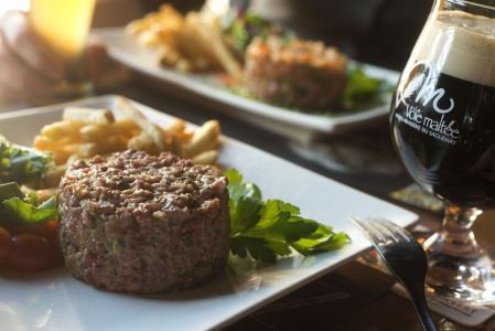La Voie Maltée - Québec Restaurant - Picture
