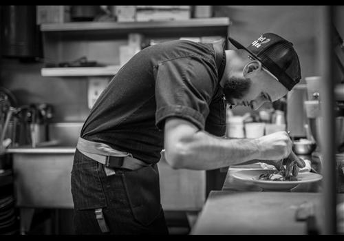 Jellyfish crudo+charbon Restaurant - Picture
