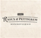 Chez Rioux & Pettigrew - Restaurant Le Quai 19 Restaurant - Logo