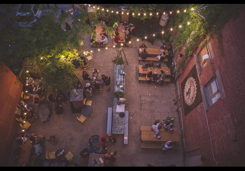 Le temps d'une pinte Restaurant - Picture