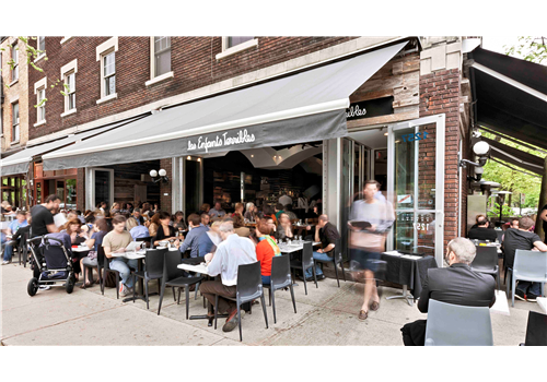 Les Enfants Terribles — Outremont Restaurant - Picture
