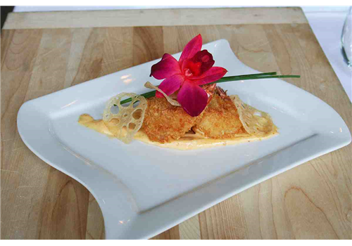 Restaurant les Jardins - Manoir des sables Restaurant - Picture