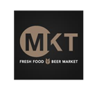 MKT Fresh Food | Beer Market Restaurant - Logo