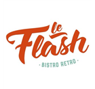 Le Flash Bistro Retro Restaurant - Logo