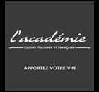 Restaurant L'Académie - Laval Restaurant - Logo