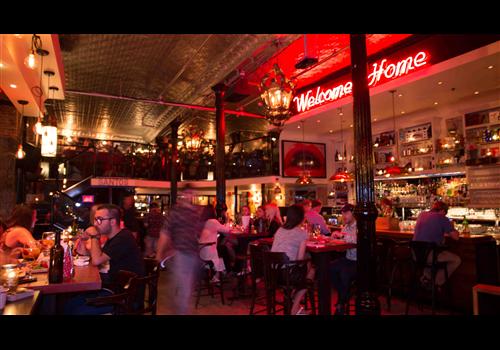 Santos Tapas Bar Downtown Montreal Restaurant Reservation Map
