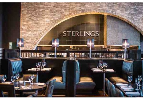 Sterlings Steakhouse Laval Restaurant - Picture