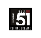 Table 51 Restaurant - Logo