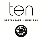 Ten Restaurant & Wine Bar Restaurant - Logo